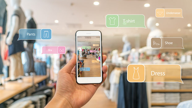 Location-based services in retail shops